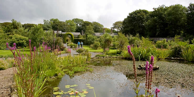 """Beautiful Dunskey gardens   with walled garden and maze"""