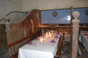 """""""Dining in style in the quirkiest of settings"""""""