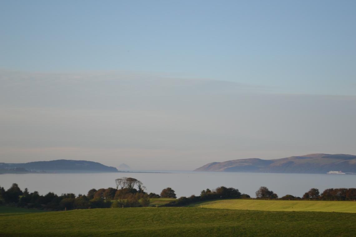 """Creachmore golf course views of Loch Ryan"""