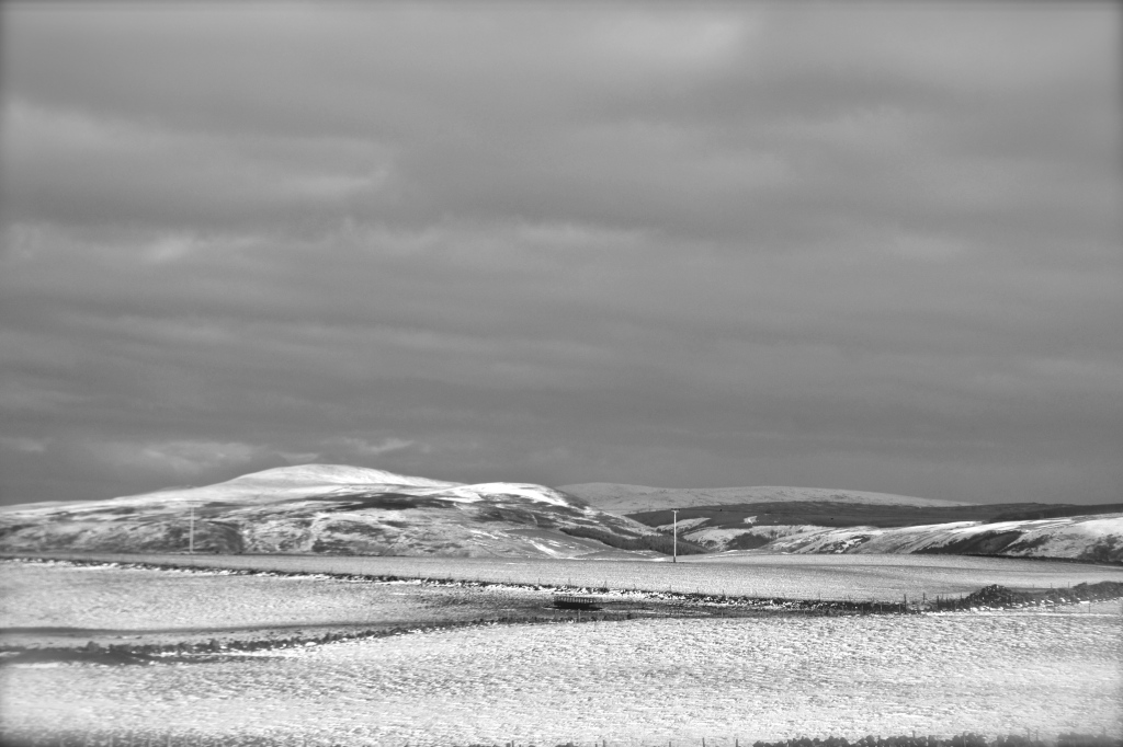 A winter view from Dundream.