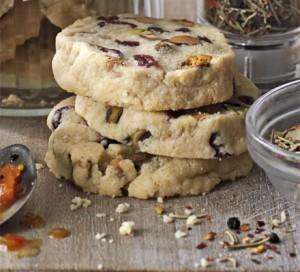 BBC Good Food: Pistachio & cranberry cookies